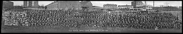 Platoon Wall Art - Photograph - Field Medical Supply Depot, Washington by Fred Schutz Collection