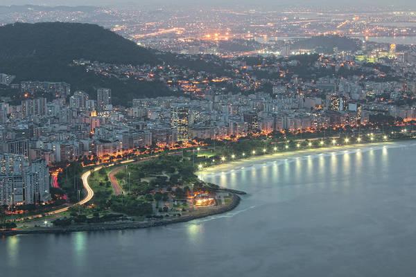 Rio De Janeiro Photograph - Flamengo Park And Beach by Antonello