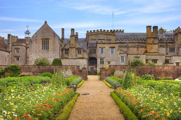 Gardens Photograph - Forde Abbey by Joana Kruse