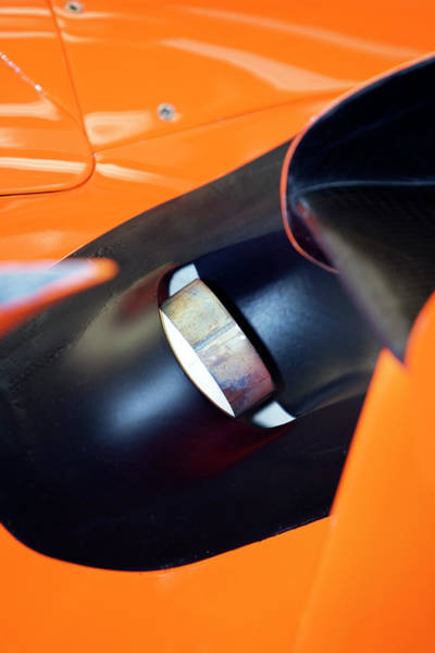 Exhaust Wall Art - Photograph - Formula One Car Bodywork by Gustoimages/science Photo Library