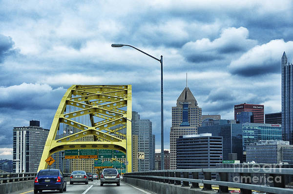 Photograph - Fort Pitt Bridge And Downtown Pittsburgh by Thomas R Fletcher