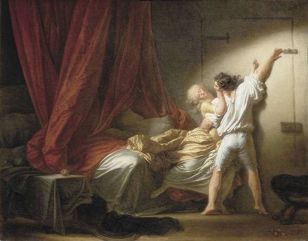 Passionate Photograph - Fragonard, Jean Honor� 1732-1806. The by Everett