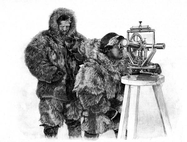 1899 Photograph - Fridtjof Nansen by Collection Abecasis