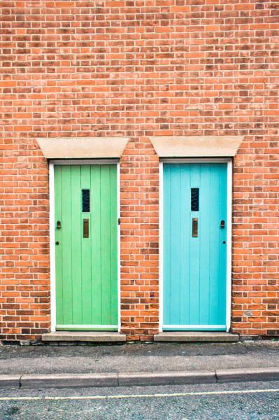 Door Photograph - Front Doors by Tom Gowanlock