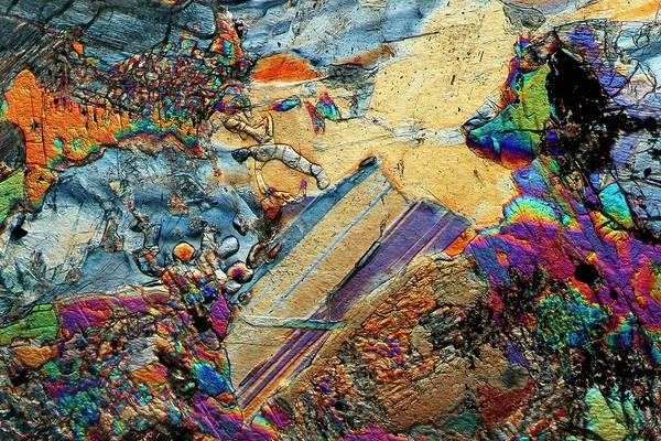 Basalt Photograph - Gabbro Microcrystals by Antonio Romero
