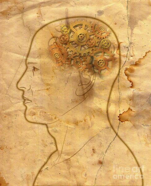 Wall Art - Photograph - Gears In The Head by Michal Boubin