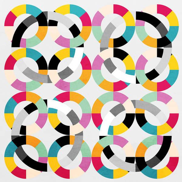 Geometric Painting - Geometric  by Mark Ashkenazi