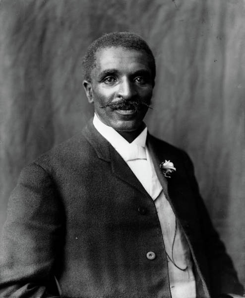Wall Art - Photograph - George Washington Carver (1864-1943) by Granger
