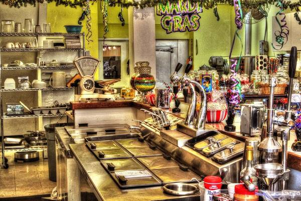 Photograph - 3 Georges Soda Fountain by Michael Thomas