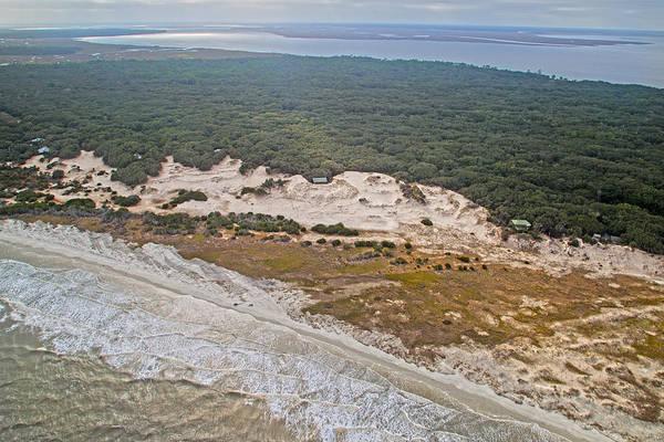 Jekyll Island Photograph - Georgia Coastline by Betsy Knapp