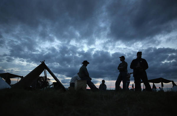Photograph - Gettysburg Marks 150th Anniversary Of by John Moore
