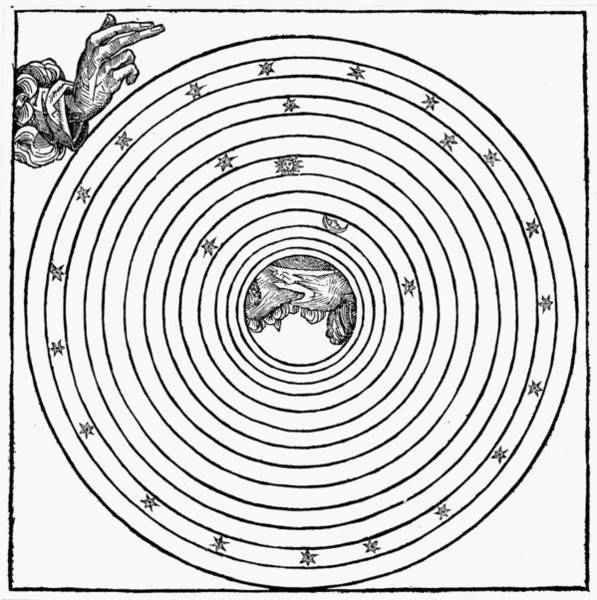 Photograph - God Creating World, 1493 by Granger