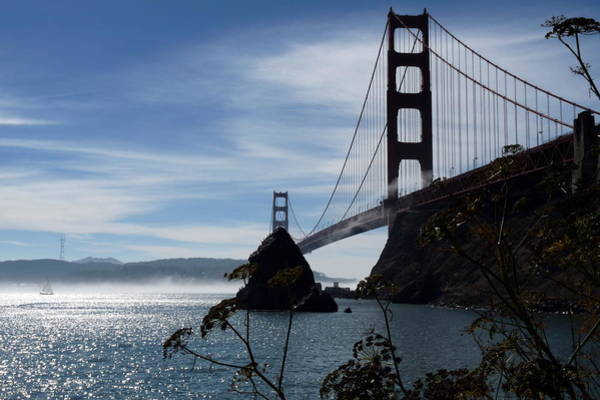Photograph - Golden Gate Bridge by Jeff Lowe