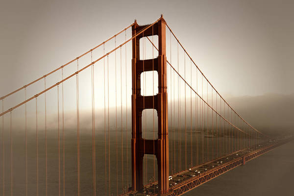 Wall Art - Photograph - Lovely Golden Gate Bridge by Melanie Viola