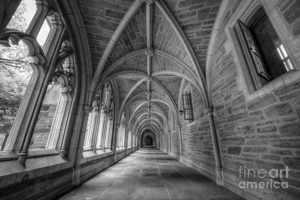 Mv Photograph - Gothic Hall At Princeton Nj by Michael Ver Sprill