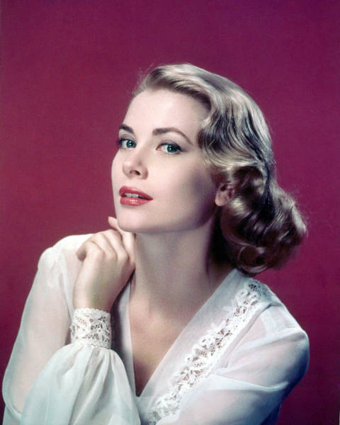 Glamorous Photograph - Grace Kelly by Silver Screen