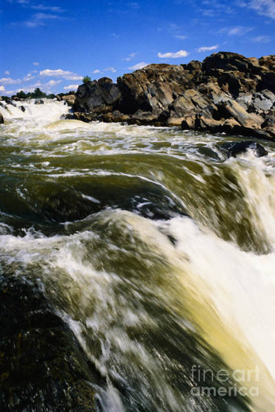 Photograph - Great Falls Of The Potomac River by Thomas R Fletcher