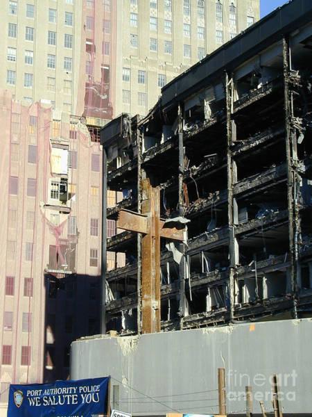 Photograph - Ground Zero On 11-11-01 by Steven Spak