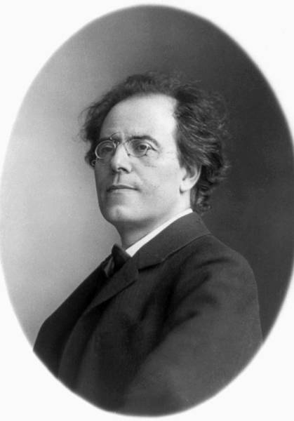 Wall Art - Photograph - Gustav Mahler 1860-1911.  To License For Professional Use Visit Granger.com by Granger