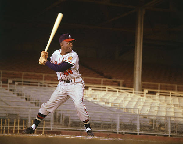 Wall Art - Photograph - Hank Aaron by Retro Images Archive