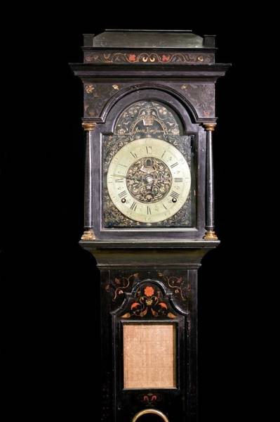 Wall Art - Photograph - Harrison's Precision Pendulum Clock 2 by Adam Hart-davis/science Photo Library