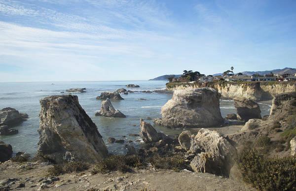 Wall Art - Photograph - Hazy Lazy Day Pismo Beach California by Barbara Snyder