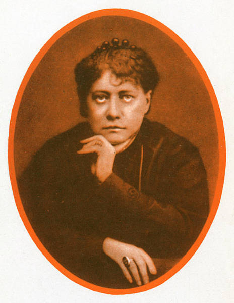 Wall Art - Photograph - Helena Petrovna Blavatsky(1831-1891) by Mary Evans Picture Library