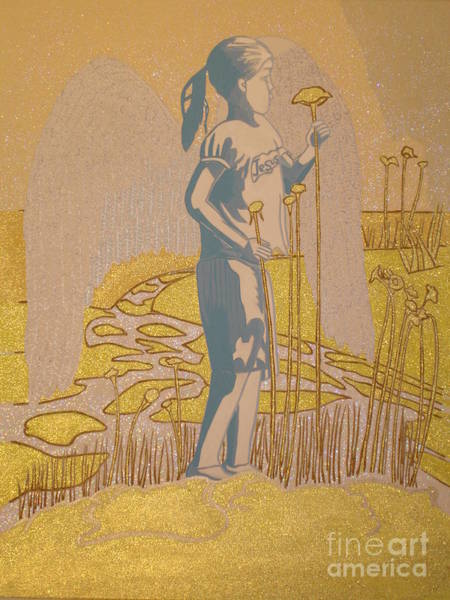Scriptural Painting - Highway Angel by Daniel Henning