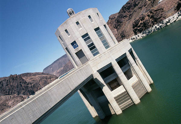 Wall Art - Photograph - Hoover Dam by Paul Avis/science Photo Library