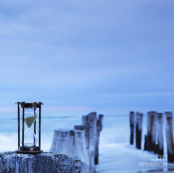 Deadline Wall Art - Photograph - Hourglass Blue Sky by Colin and Linda McKie