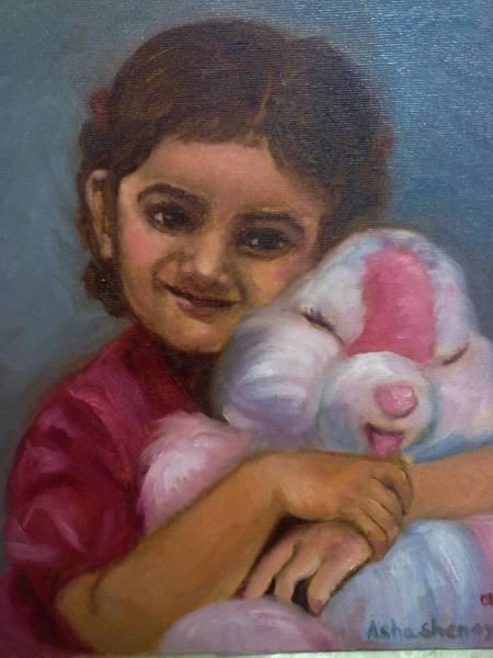 Painting - Innocence by Asha Sudhaker Shenoy