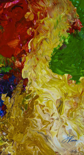 Painting - Intuitive Abstract Painting by Joan Reese