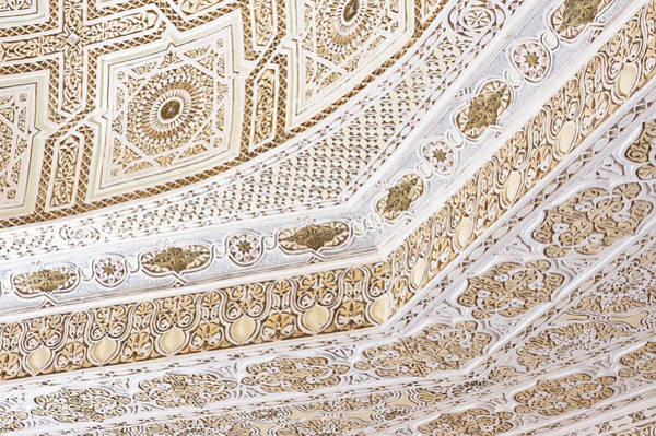 Stucco Wall Art - Photograph - Islamic Architecture by Tom Gowanlock