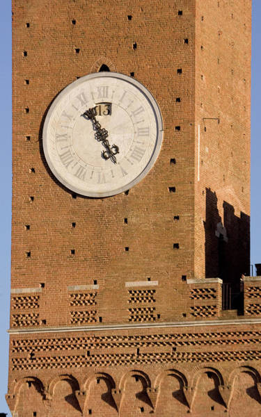 Sienna Photograph - Italy, Tuscany, Sienna by Jaynes Gallery