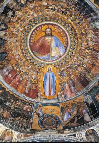 Pantocrator Photograph - Italy, Veneto, Padua, Duomo by Everett