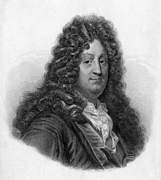 Wall Art - Drawing - Jean Racine  French Dramatist by Mary Evans Picture Library