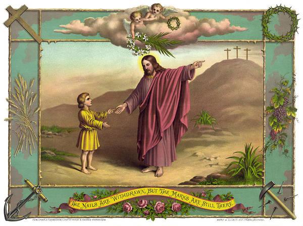 Wall Art - Painting - Jesus Resurrection by Granger