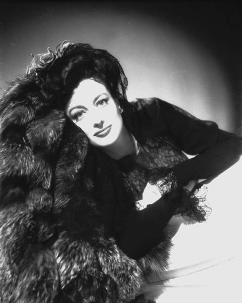 Glamorous Photograph - Joan Crawford by Silver Screen