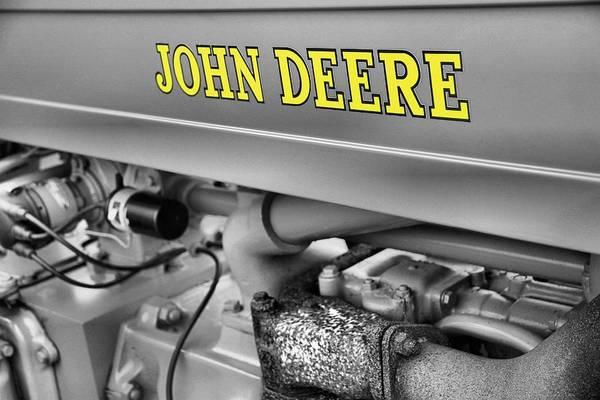 Photograph - John Deere by Dan Sproul