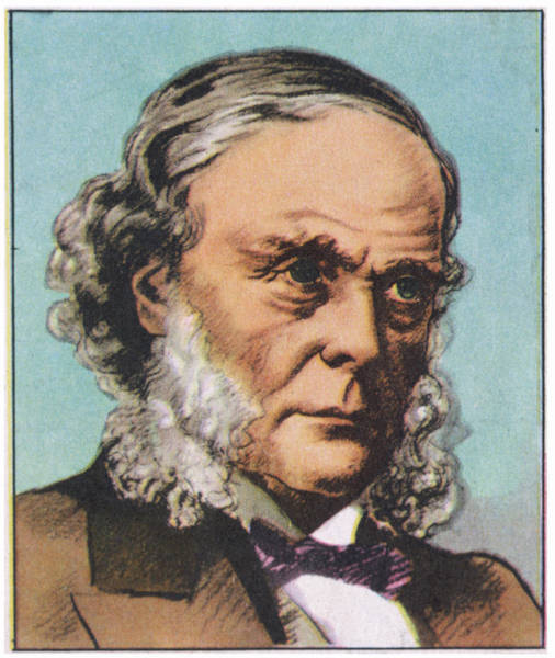 Wall Art - Drawing - Joseph Lister  English Surgeon, Medical by Mary Evans Picture Library