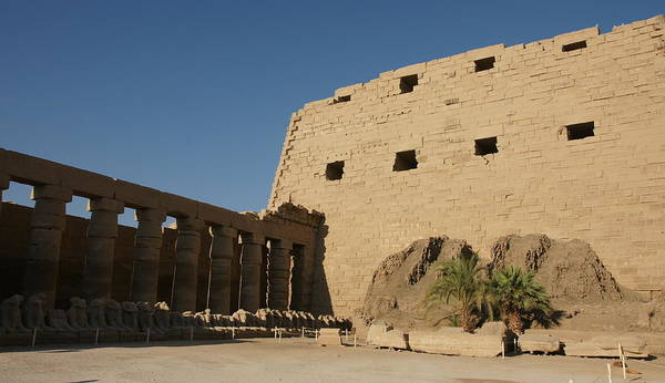 Photograph - Karnak Temple by Olaf Christian