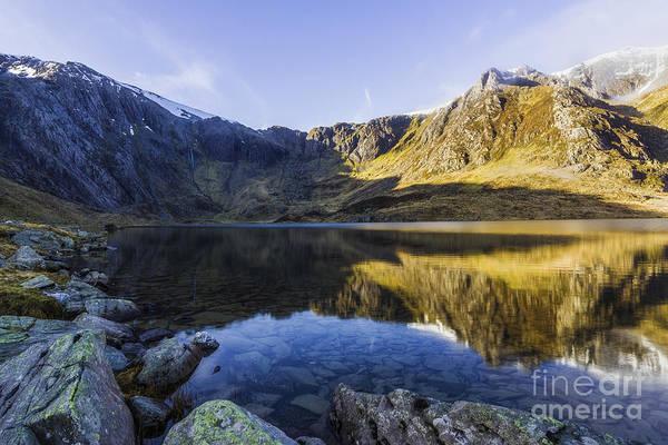 Photograph - Lake Idwal by Ian Mitchell