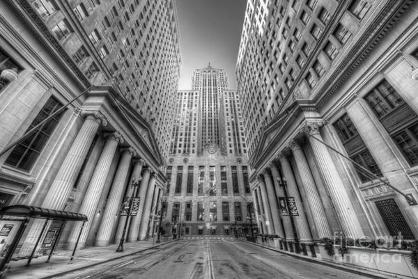 Wall Art - Photograph - Lasalle Street In Chicago by Twenty Two North Photography