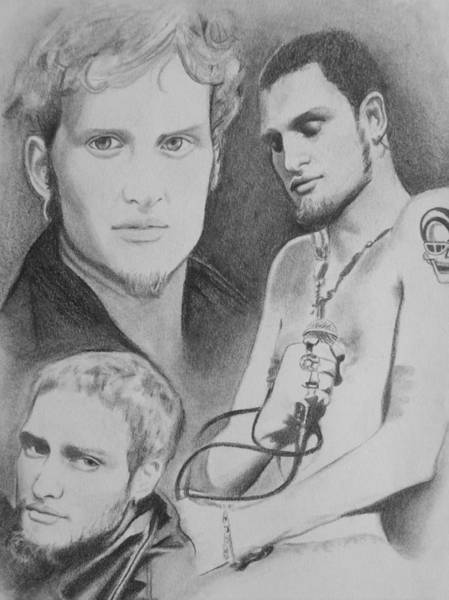 Amber Drawing - Layne Staley by Amber Stanford