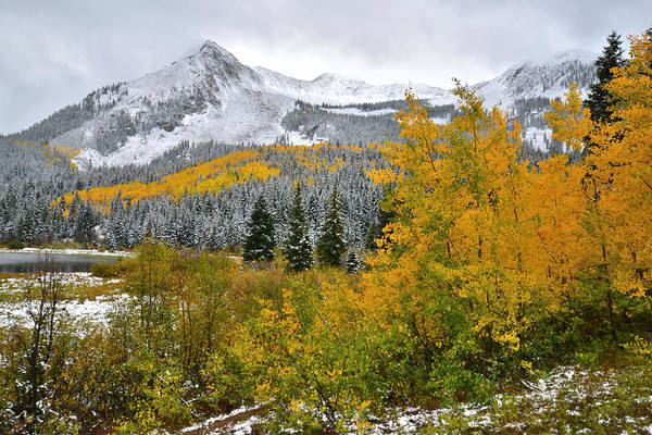 Photograph - Lost Lake Fall Colors by Ray Mathis
