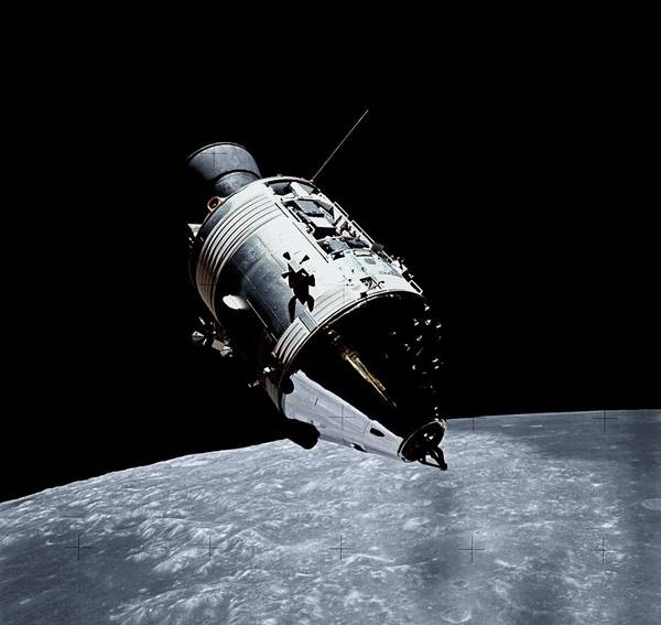Module Wall Art - Photograph - Lunar Command Module by Nasa/science Photo Library