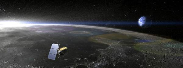 Return To Earth Photograph - Lunar Reconnaissance Orbiter by Nasa/science Photo Library