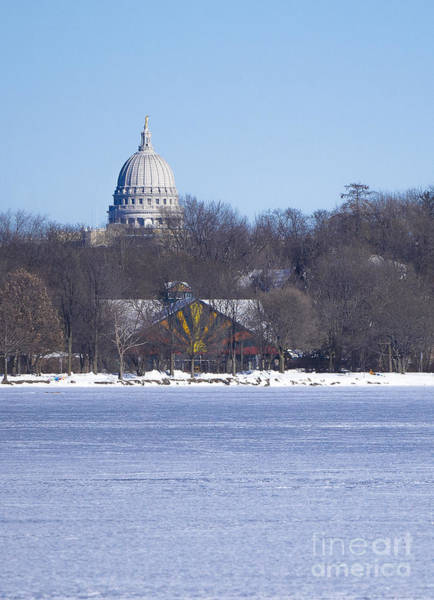 Photograph - Madison Capitol And Zoo by Steven Ralser