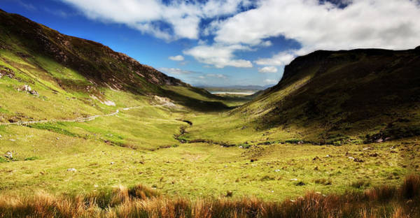 Photograph - Maghera Valley / Donegal by Barry O Carroll