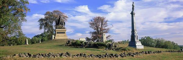 Gettysburg Battlefield Photograph - Major General Winfield Scott Hancock by Panoramic Images